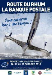 affiche officielle de la route du rhum 2010