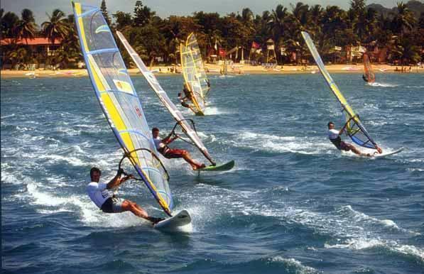 Windsurf Guadeloupe Saint François