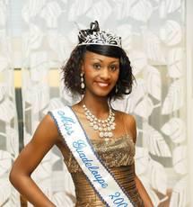 Miss guadeloupe 2009 Angélique Duro