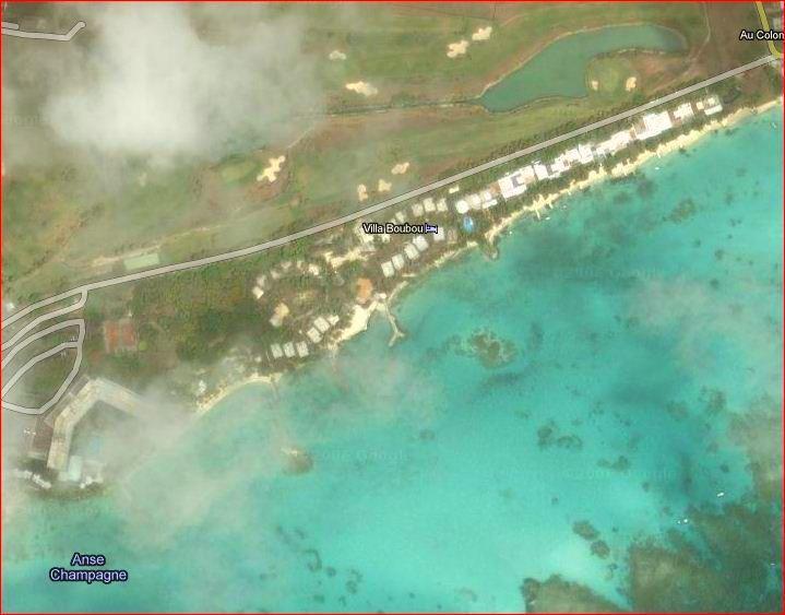 Le Golf au bord du lagon et des Villas de Luxe en Guadeloupe Saint François