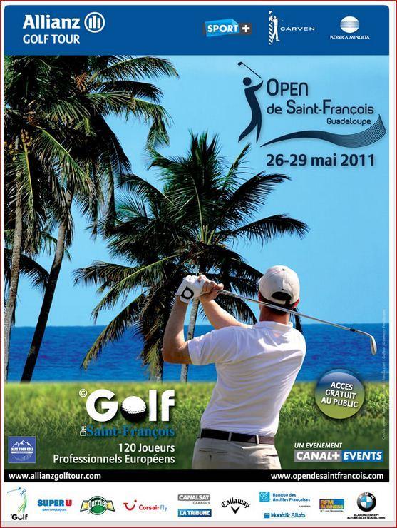 Open de Golf de Saint François Guadeloupe à 30m des villas de luxe en Guadeloupe