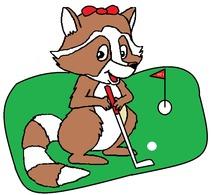 Logo Golf Kitty Michael  Guadeloupe