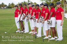 Equipe féminine 2010 de Golf Saint François Kitty Michael Guadeloupe