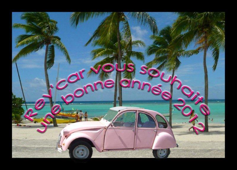 Nouvelle Voiture Chez Rev Car en Guadeloupe, 2 CV décapotable de Citroén
