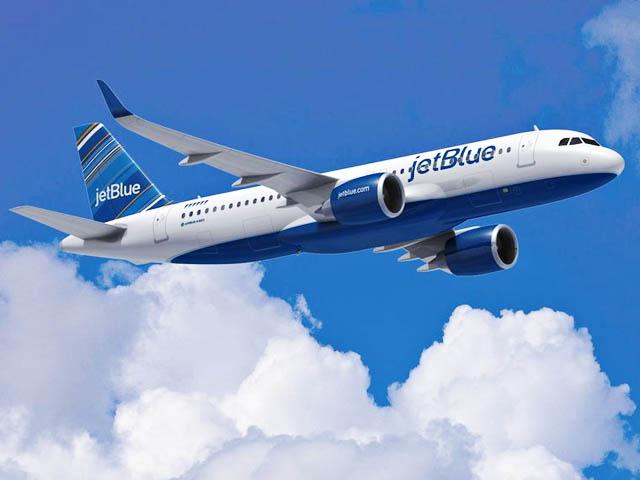 Vol Jet Blue entre New York et la Guadeloupe