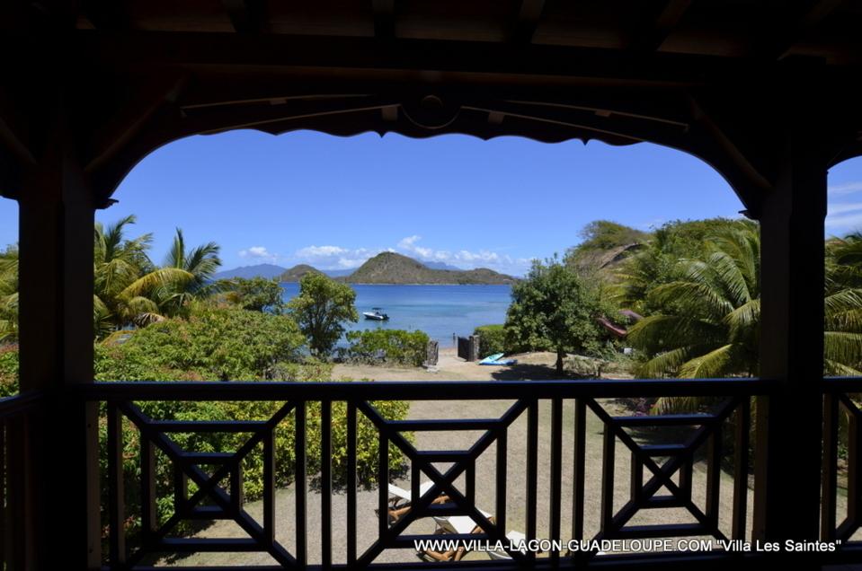 Villa Anse Emeraude - Villa de luxe pour 12 personnes sur l'Ïle des Saintes en Guadeloupe