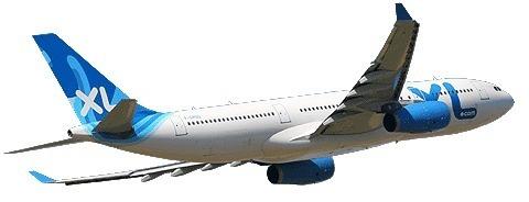 XL Airways Guadeloupe Pointe à Pitre Charles de Gaulle