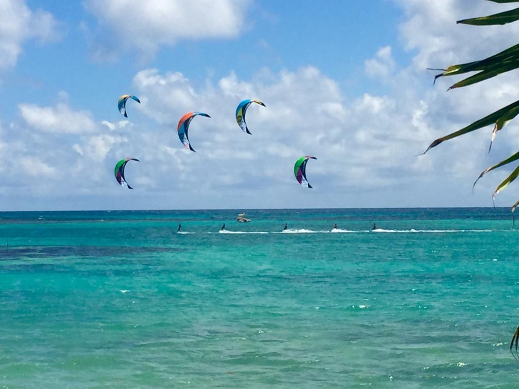 Le Lagon de St François cours de Kitesurf en Guadeloupe