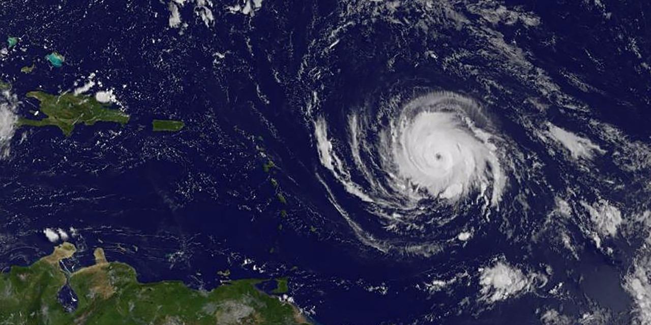 Ouragan Irma @ HO / NASA/GOES PROJECT / AFP