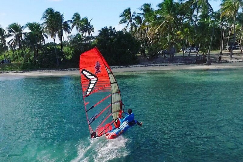 Windsurf en Guadeloupe - Photo : Aeroworx
