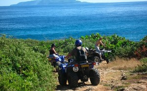 Quad, cheval et randonnée équestre à Saint-François en Guadeloupe