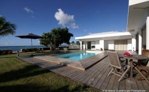 Route du Rhum 2010, Villa luxe Guadeloupe Saint François front de mer
