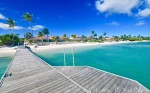 Promotion villa luxe Guadeloupe les pieds dans l'eau à Saint François, 30m du Golf international