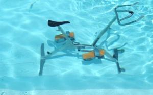 Aquabike dans la piscine de Villa Boubou