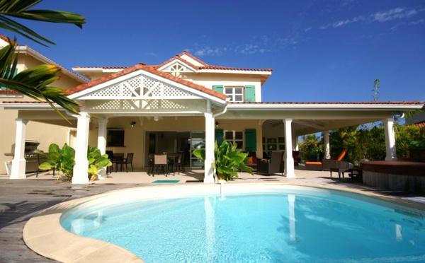 location de villas de luxe en guadeloupe saint fran ois sur le lagon. Black Bedroom Furniture Sets. Home Design Ideas