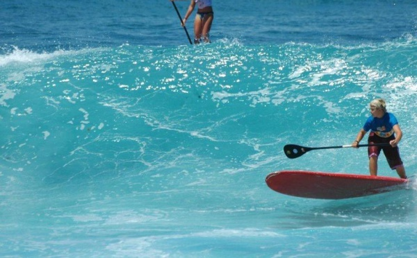 Surf Saint François Guadeloupe, STAND UP PADDLE, longue rame surf