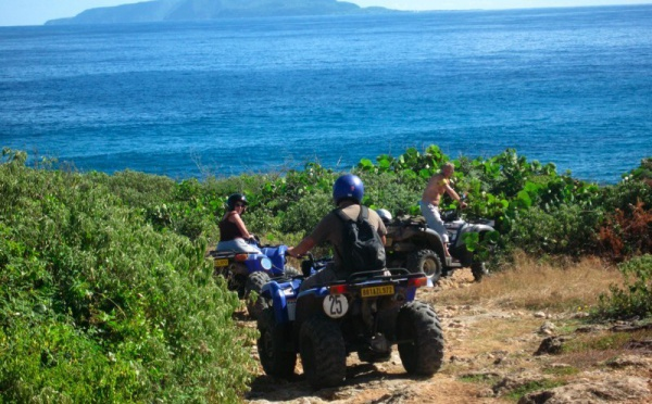 Quad, cheval et randonnée équestre à Saint-Frrançois en Guadeloupe