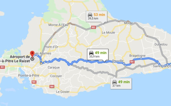 Comment aller en Guadeloupe ?
