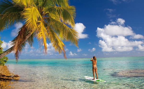 Stand up Paddle dans toutes les villas de luxe du Hamak à Saint François