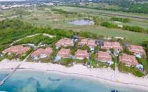 La plage des villas boubou à Saint François