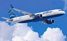 Vol Jet Blue entre New York et la Guadeloupe