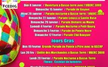 Programme du Carnaval 2020