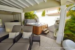 Villa Luxe Guadeloupe Bonheur, le coin détente, le spa