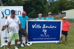 Open de Golf 2016 Saint François Guadeloupe Equipe du pro Am de Villas Boubou