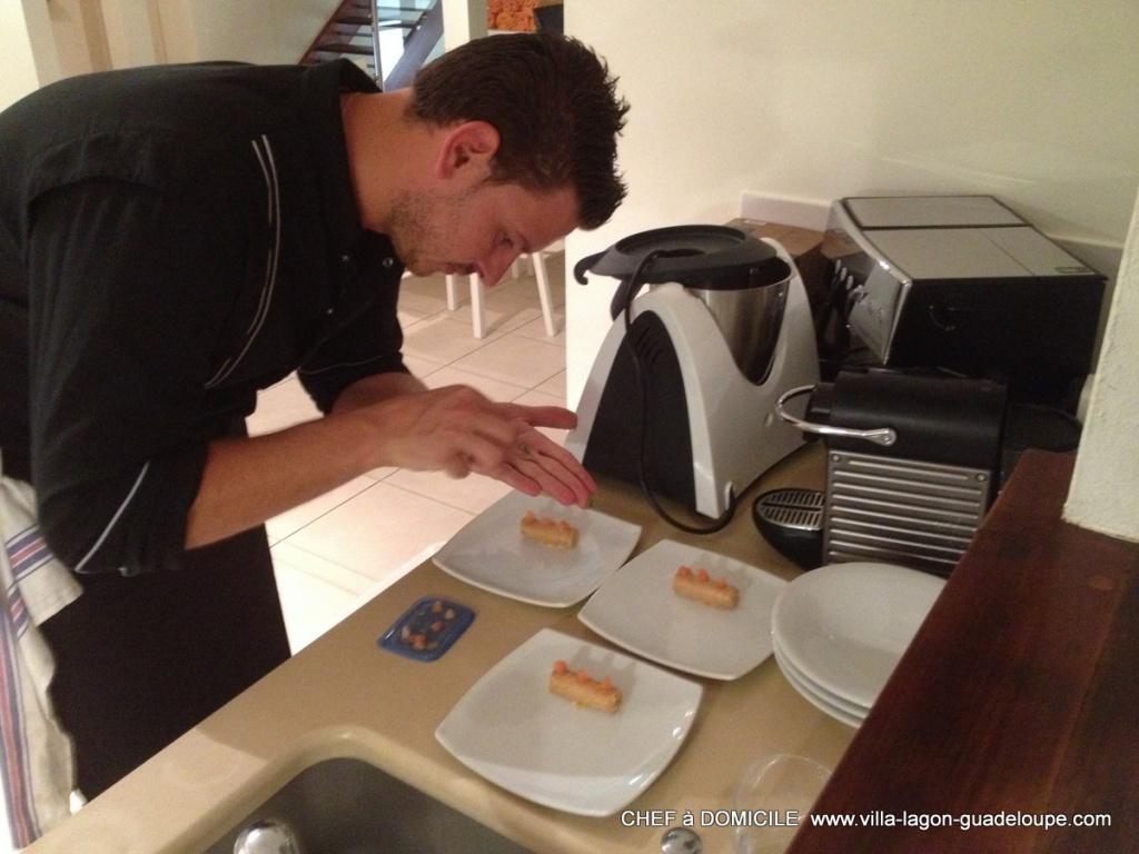 Notre service de cuisinier traiteur domicile dans votre - Cours de cuisine en guadeloupe ...
