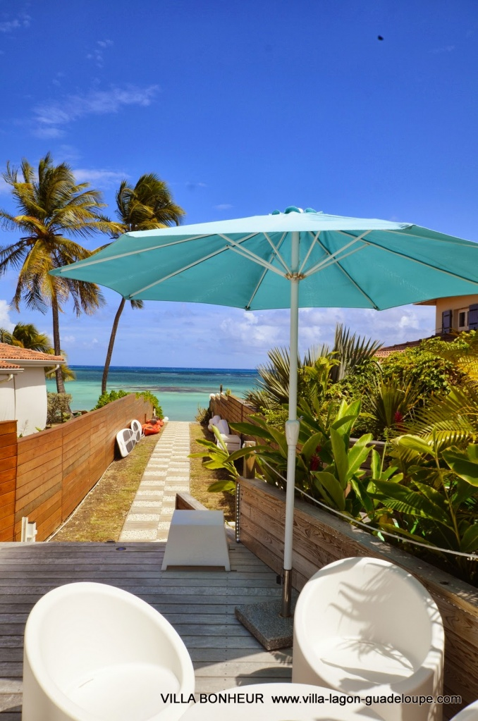 Villa Luxe Guadeloupe Bonheur, vers la lagon