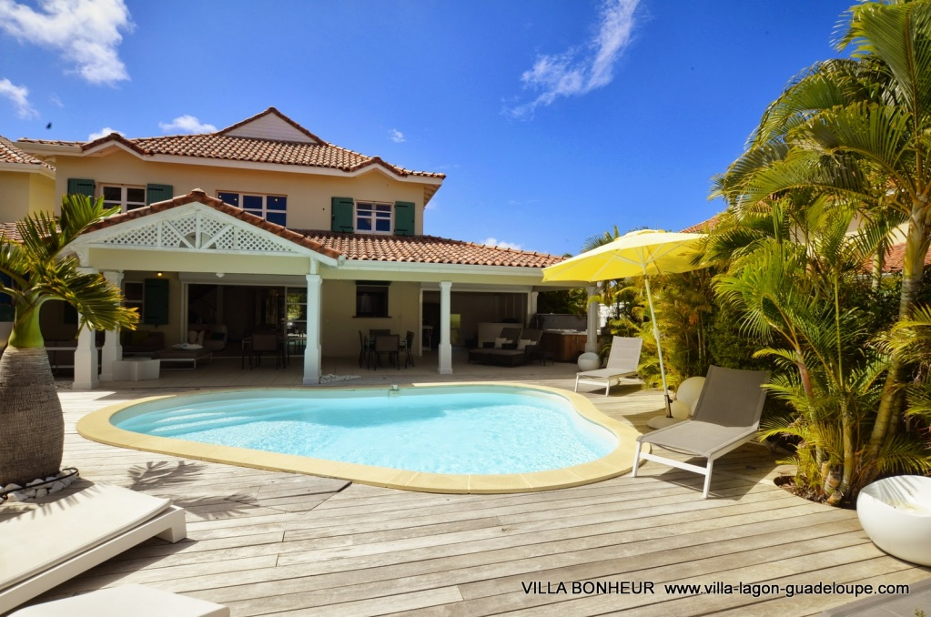 Villa Luxe Guadeloupe Bonheur la terrasse