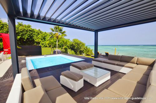 Location de villas de luxe en guadeloupe saint fran ois for Piscine vitry le francois